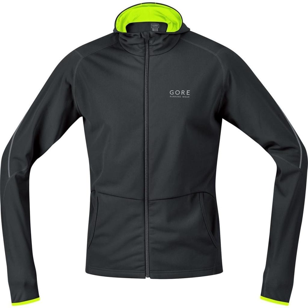(amazon.de) Gore Running Wear Essential Windstopper Soft Shell Hoody