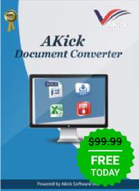 Giveaway of the day — AKick Document Converter 1.9