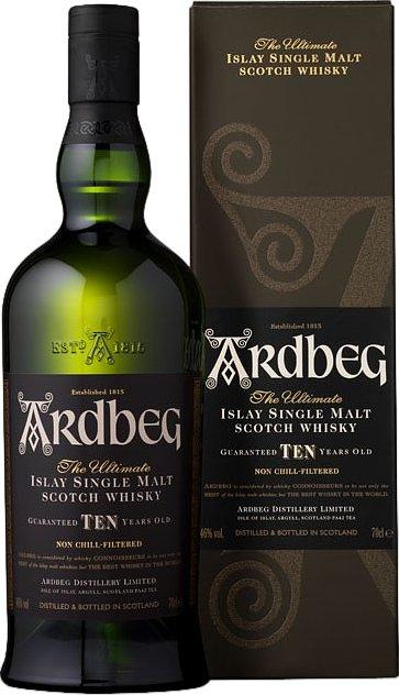 Whisky - Ardbeg TEN 1 Liter - 39,99€ (Grenzgänger CZ Travel-Free-Shop)