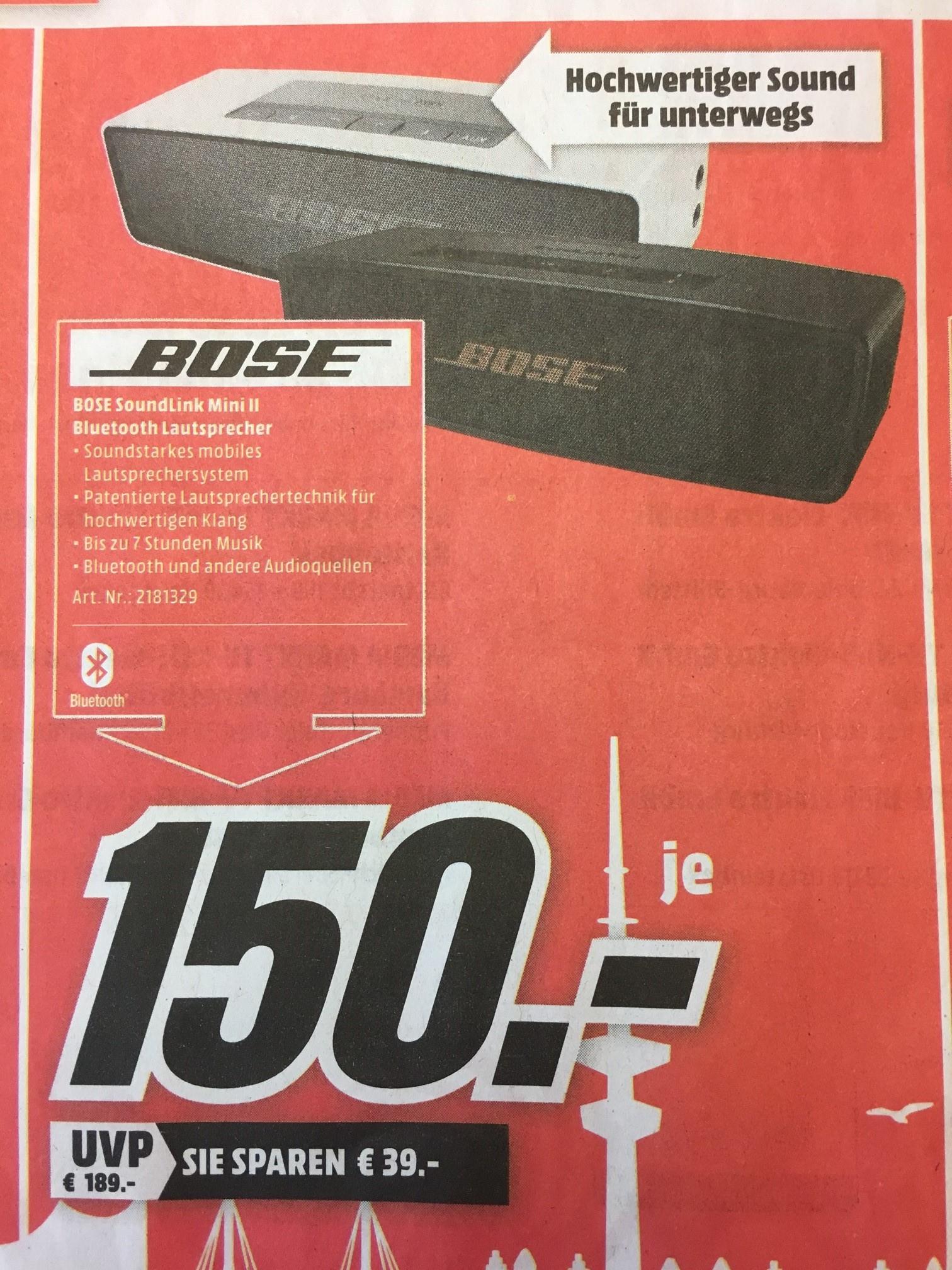 [Lokal MediaMarkt HH] Bose Soundlink Mini II