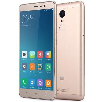 Flash Sale: Xiaomi Redmi Note 3 Pro 4G mit Band 20 - GLOBAL VERSION  GOLD