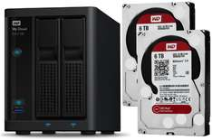 [Notebooksbilliger]WD My Cloud EX2100 2-Bay NAS 12TB (2x WD Red 6TB)