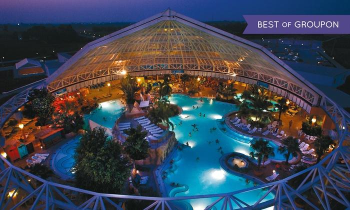 Therme Erding Abend Ticket ab 16 Uhr  -  Thermalbad, Rutschen und Wellenbad (28% Reduziert)