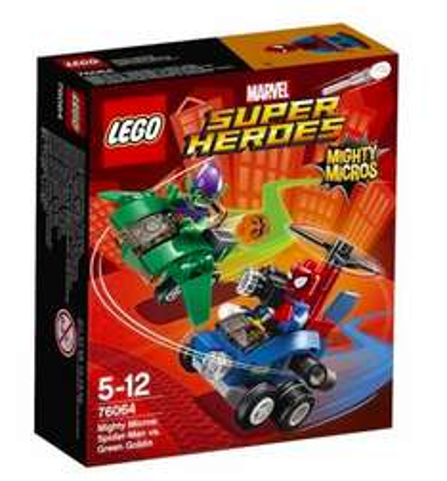 Lego Super Heroes 76064 Spider-Man vs. Green Goblin für 7,11€, Lego 41143 Berrys Küche für 3,55€ versandkostenfrei bei [bücher.de]