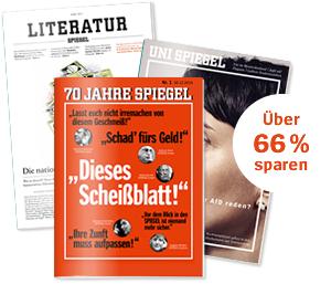 [Studenten] 12 Ausgaben Spiegel für eff. 4,90€ (15€ Amazon / Tankgutschein) oder mit JBL Go Boombox