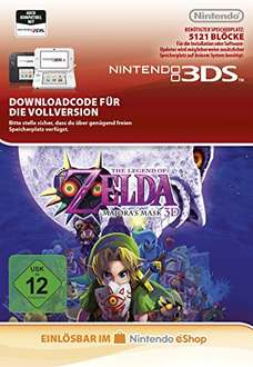 The Legend of Zelda: Majora's Mask [3DS Download Code] für 9,99€ bei Amazon