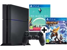 Playstation 4 1TB + No Man's Sky + Ratchet & Clank + (3 Monate PS+ AT) für 255€ inkl. Versand nach DE [Mediamarkt.at]