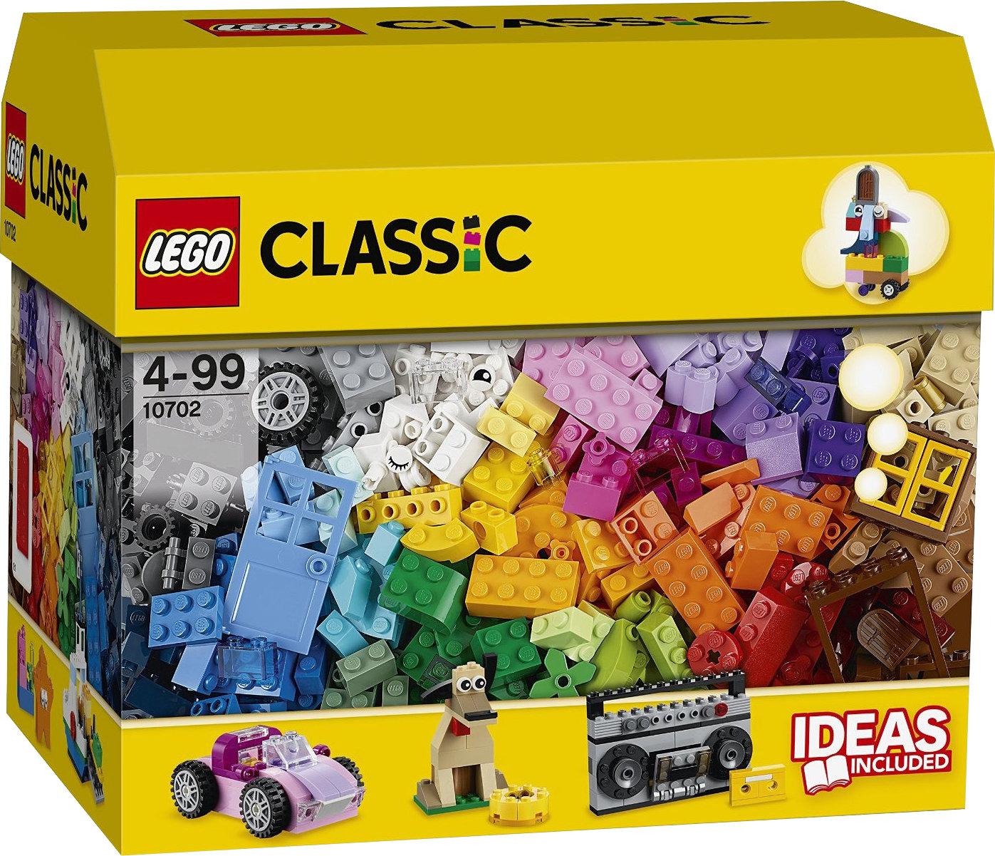 Bundesweit Müller Drogerie  hat Das Lego Classic Kreatives Bauset (10702) im Abverkauf statt 29,99 €  nur noch 14,99 €