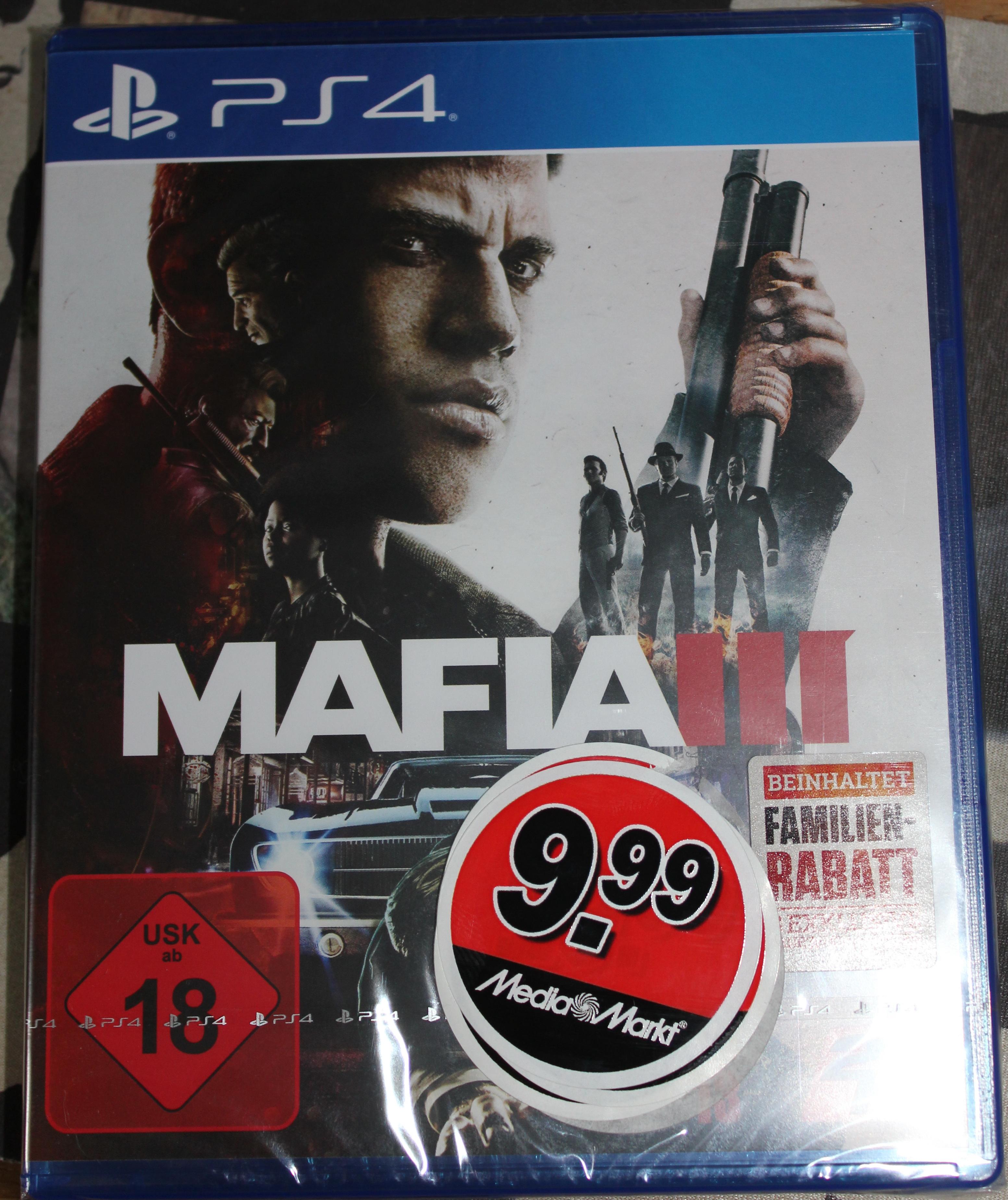 MAFIA 3 PS 4 für 9,99 € im Media-Markt MD-Bördepark