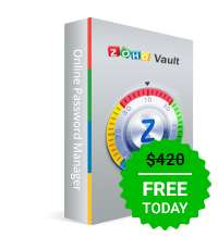Giveaway of the day — Zoho Vault Enterprise
