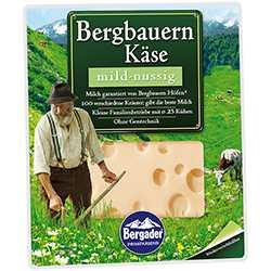[Netto/Kaufland] Bergader Bergbauern Käse für 1,09€ mit Coupies
