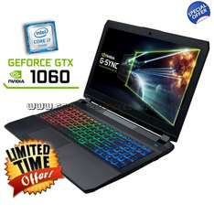 CLEVO P650RP6-G (15,6'' FHD IPS matt G-Sync, i7-6700HQ, 8GB RAM, 275GB Crucial MX300 SSD, Geforce 1060 mit 6GB, Wlan ac + Gb LAN, bel. Tastatur, Wartungsklappe, FreeDOS) für 1248,31€ [CEG]