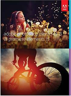 (Amazon Prime Deals) Adobe Photoshop Elements 15 & Premiere Elements 15