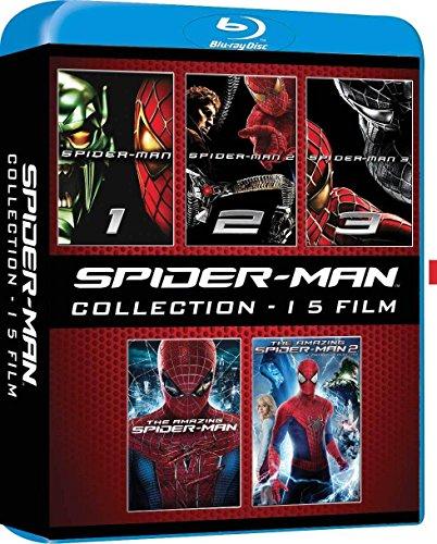Spider-Man Collection (5x Blu-ray) (OT) für 12,57€ (Amazon.it)