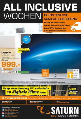 (Saturn München/Freising) Samsung UE49KS8090