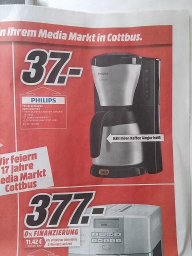 [MM Cottbus] Philips HD7546/20 für 37.00 €