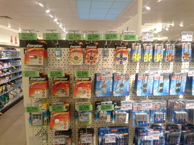 Ausverkauf Energizer Batterien und Akkus - Rossmann Green Label
