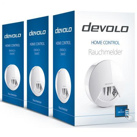 [Rauchmelder] Devolo 3er Set (Preisvergleich 162,69 €) für 49,66 €