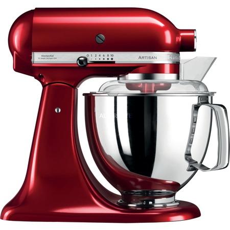 [ZackZack] KitchenAid Küchenmaschine Artisan 5KSM175PSECA (rot), 5KSM175PSELT (creme), 5KSM175PSEMS (silber)