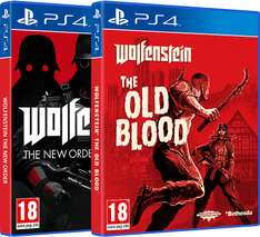 Wolfenstein - Die komplette Operation (AT-PEGI) The New Order + The Old Blood inkl. Zombies (PS4) für 34,90€ inkl. VSK (Gameware)