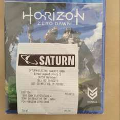[lokal Hannover Saturn] Horizon: Zero Dawn PS4