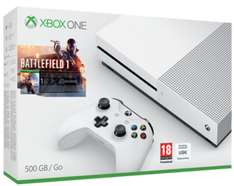 Xbox One S 500GB inkl. Battlefield 1 + Forza Horizon 3 & Halo Wars 2 für 270€ inkl. VSK (Shopto)