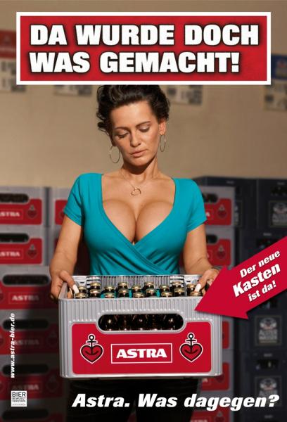 [Lokal Rewe Hamburg] Kasten Astra Bier 27x0,33 für 8,49 Euro (0,95 Euro/l)