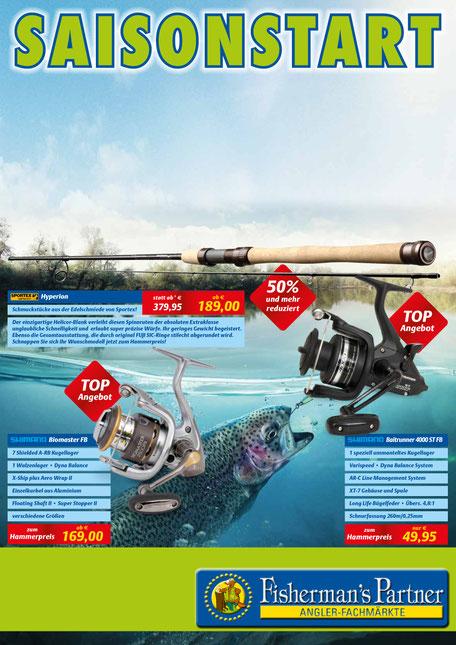[Angel-Deal] Saisonstart bei Fisherman's Partner u.a. Sportex Hyperion