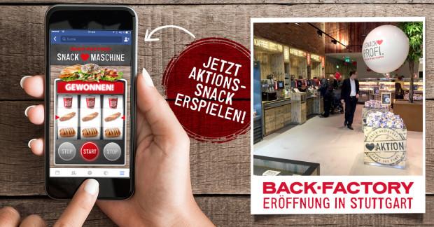 [Berlin/Erfurt] Gratis Snack bei Back-Factory