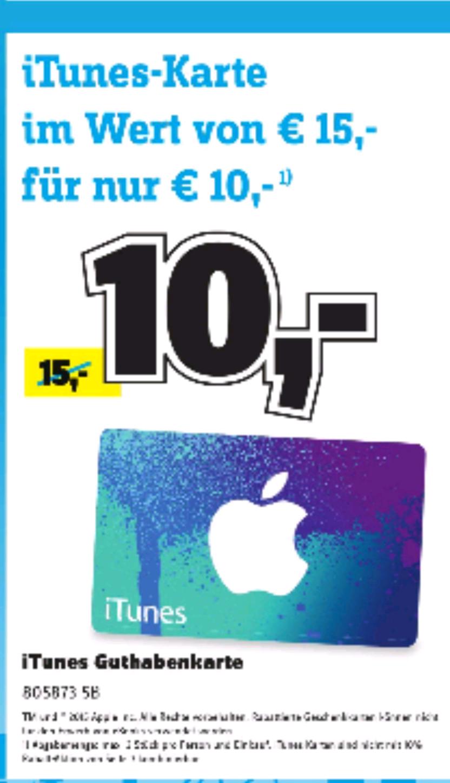 [Lokal München] Itunes Karte für 10€ statt 15€