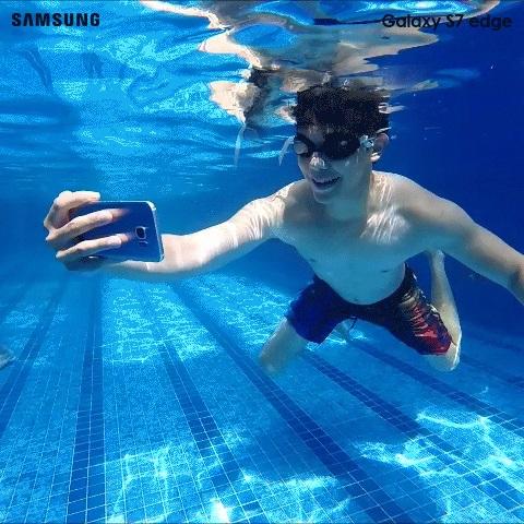Samsung Galaxy S7 Edge im Blau Allnet XL (Allnet|SMS|4GB LTE) für 24,99 € / Monat + 99 € Zuzahlung