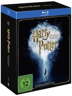 Harry Potter - The Complete Collection Blu-Ray