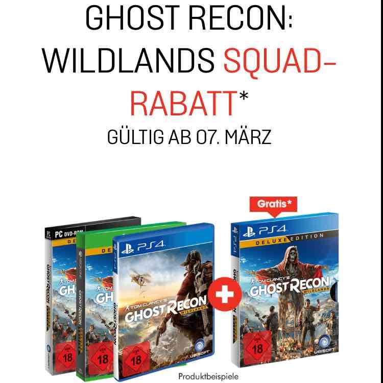 [GameStop]: Tom Clancy's Ghost Recon Wildlands Deluxe Edition