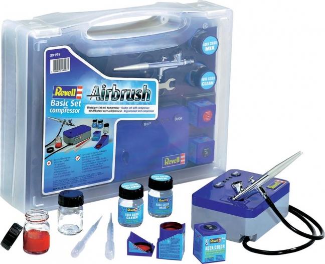 [Voelkner] Revell 39199 - Airbrush Basic Set mit Kompressor