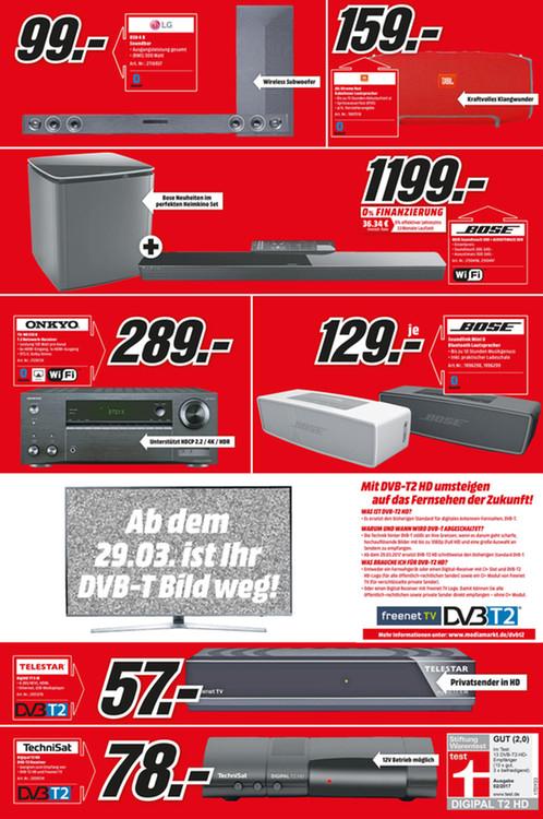 Bose Soundtouch 300 + Bose Acoustimass 300 (Media Markt Köln Kalk Lokal)