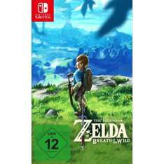 The Legend of Zelda: Breath of the Wild (Nintendo Switch) für 56,44€ [Conrad]