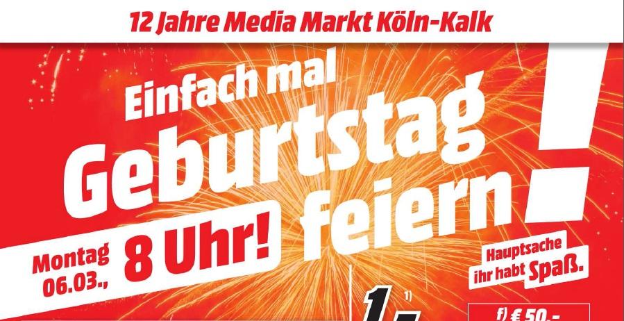 [Lokal MM Köln Kalk] Geburtstagangebote Sammeldeal