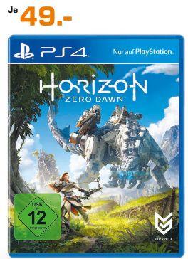 [Lokal Saturn Hagen und Iserlohn] Horizon: Zero Dawn (Playstation 4) für 49,-€