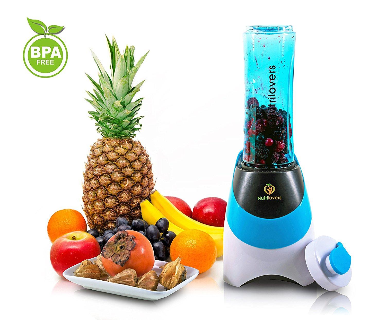 [Amazon WHD] Smoothies Maker + Trink-Flasche to GO - Edelstahl-Messer, bis zu 23.000U/min, 0,4PS Motor (300 Watt)