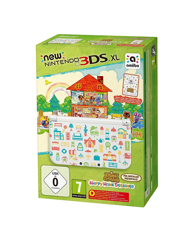 Nintendo New 3DS XL + Animal Crossing: Happy Home Designer + Zierblende für 149,99€ [Expert Klein]