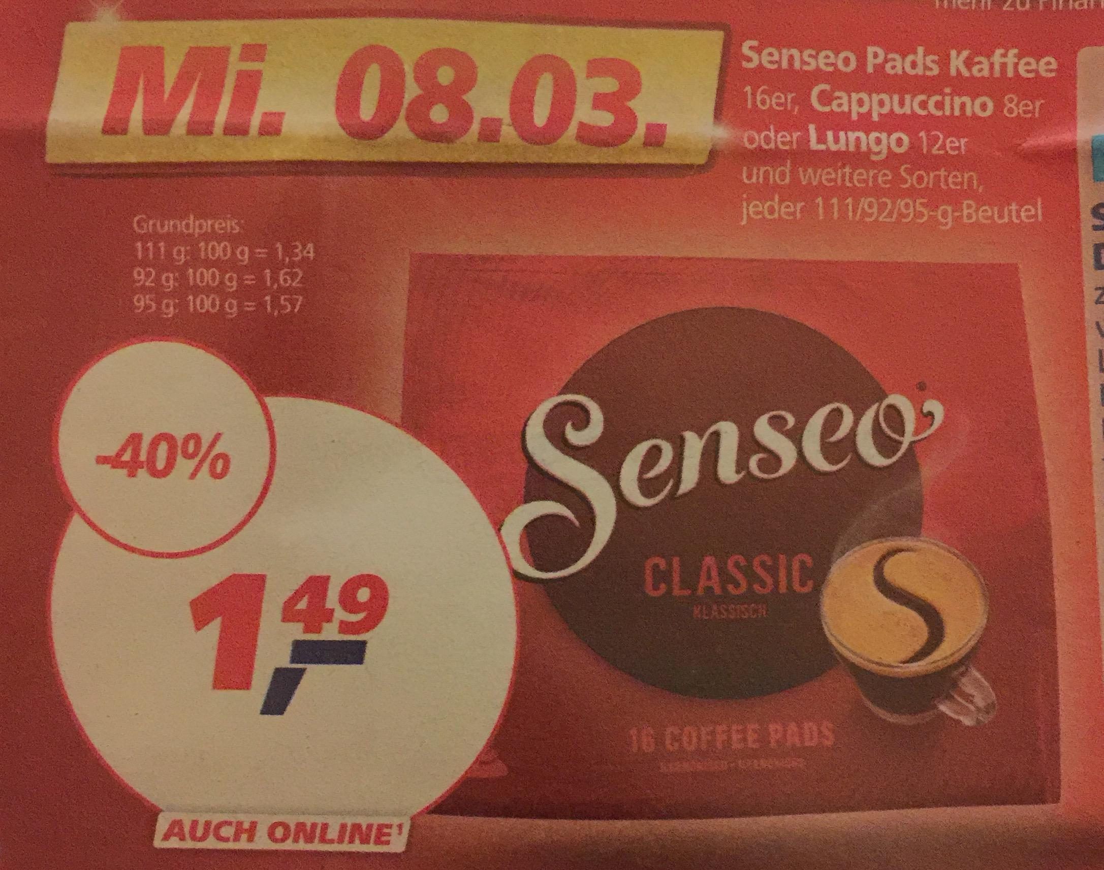 Senseo Pads für 1,49€ [Real, nur am 08.03.]