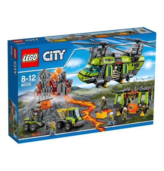 [Kaufhof] Sonntag Rabatte bei versch. Lego Themen, z.B. LEGO City Vulkan-Schwerlasthelikopter (60125) 84,99 EUR