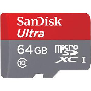 [Mediamarkt@eBay] SanDisk Ultra Imaging microSDXC 64GB bis zu 80MB/Sek Class 10 Speicherkarte + SD-Adapter für 17€ statt 24€