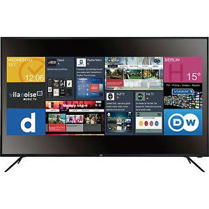JAY-TECH GENESIS 55 Zoll, UHD 4K SMART TV: 3xHDMI, [DVB-T2 HD, DVB-C, DVB-S, DVB-S2]