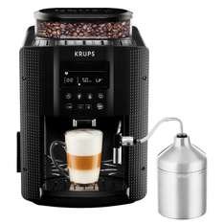 [Amazon Blitzangebote] KRUPS EA8160 Kaffeevollautomat (1,8 l, 15 bar, LC Display, AutoCappuccino-System)