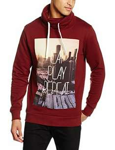 [Amazon Prime] JACK & JONES  Herren Sweatshirt Rot