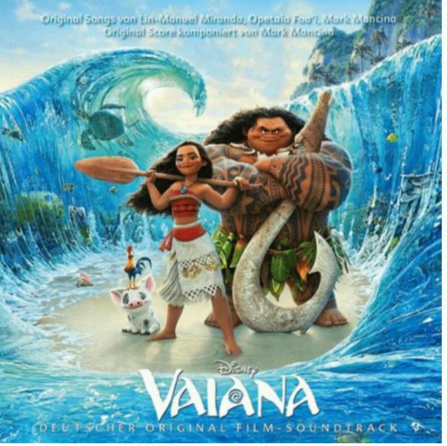 saturn online :Vaiana (aktueller Disney Film für Kinder) Soundtrack auf deutsch