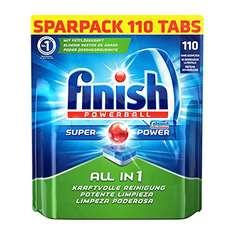 Finish All-in-one - 173 Spülmaschinen-Tabs für 16,98€ bei Amazon