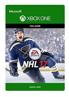 NHL 17 (Xbox One Digital Code) für 18,68€ (Amazon.com)