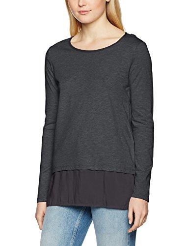 edc by ESPRIT Damen Langarmshirt (grau oder schwarz) [XS-XL] für je 7,80€ @Amazon.de (PRIME)